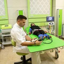 بررسی خونرسانی پاها (شریانها) با بروزترین تجهیزات دنیا