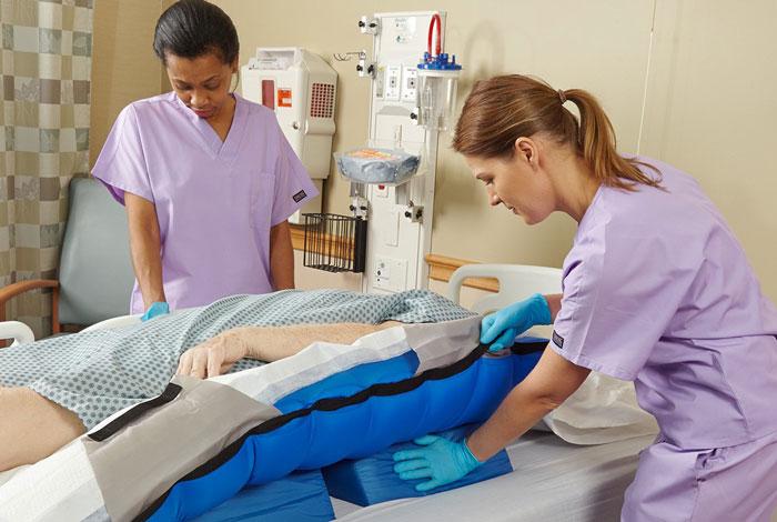 درمان زخم بستر (زخم های فشار)