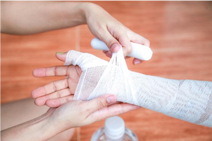 درمان زخم در منزل