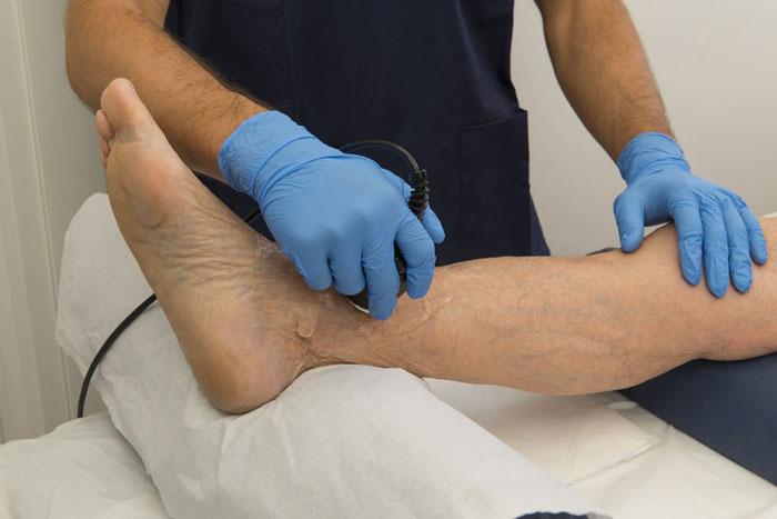درمان فیزیکی در زخم پای دیابتی